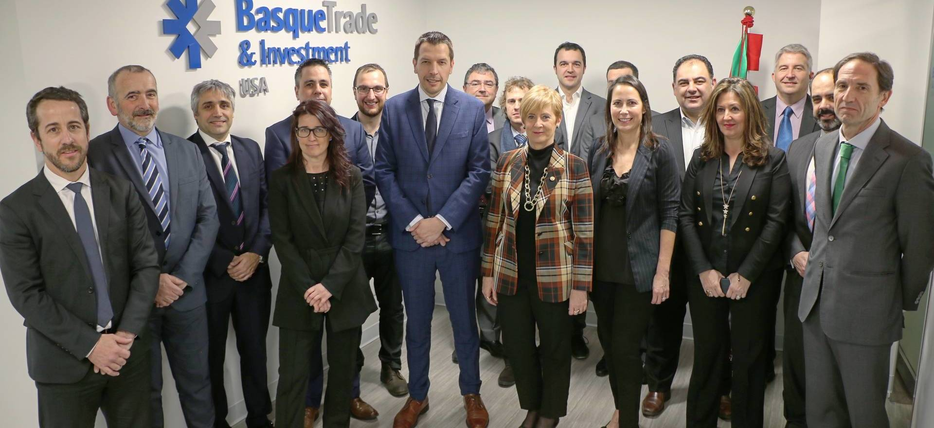Euskabea in commercial mission to United States with the basque companies delegation of the energy sector