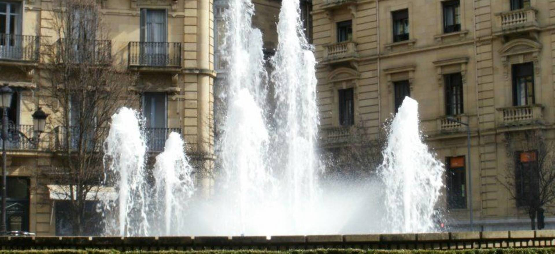 San Sebastian city fountains manteinance
